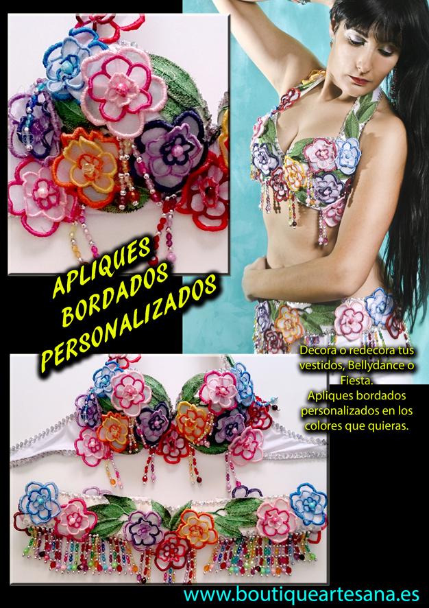 Personalización vestido bellydance