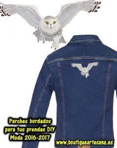 Parches y apliques bordados chaqueta personalizada DIY moda