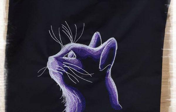 Bolsa algodón: GatoNocturno